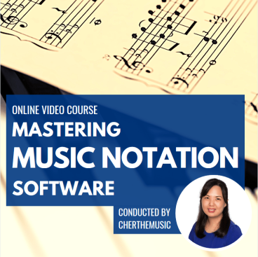 Mastering Music Notation Software poster