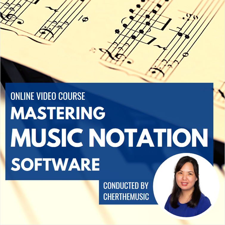 Music teacher training in using a free music notation software to create worksheets and sheet music.